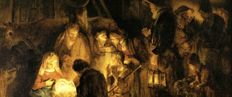 Atelier de Rembrandt, Adoration des bergers, 1646