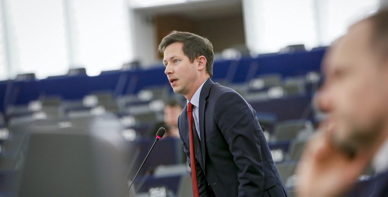 François-Xavier Bellamy au Parlement européen