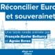 François-Xavier Bellamy et Agnès Evren au Rdv de la Jeunesse LR de Port-Marly